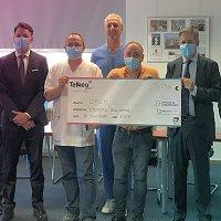 Opération solidaire Collecte au profit des personnels soignants luxembourgeois
